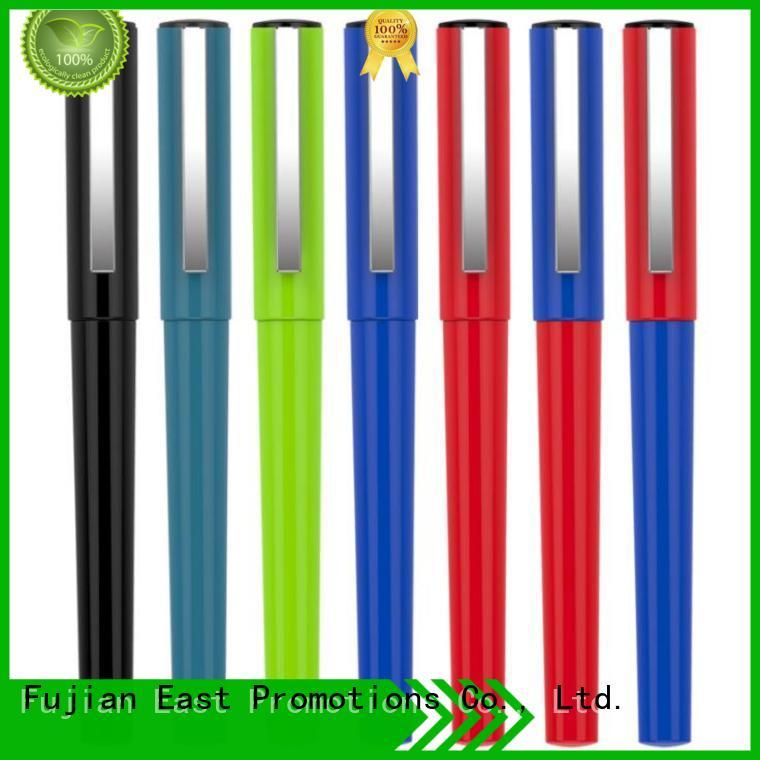 advertising pen plastic logo for office East Promotions