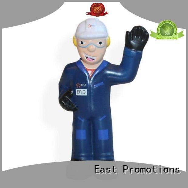 East Promotions wrestler stress toys for work factory for children