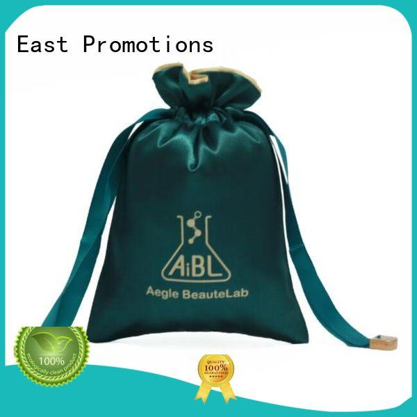 East Promotions drawstring school bag suppliers for packing