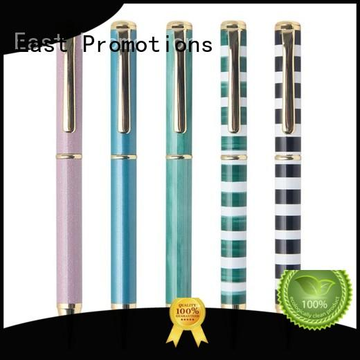 customized metal pen set for giveaway East Promotions