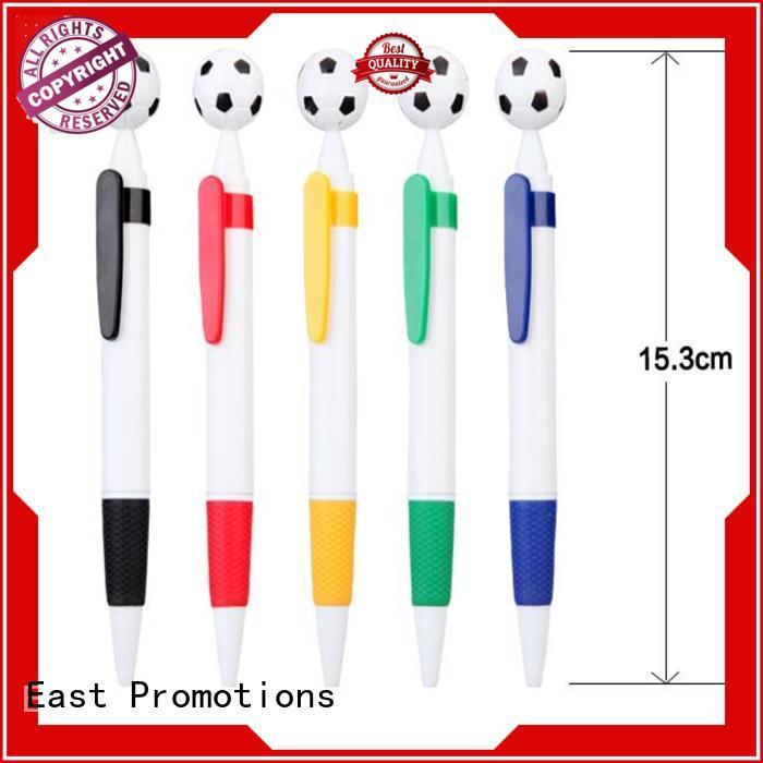 East Promotions logo plastic ballpen factory price for school