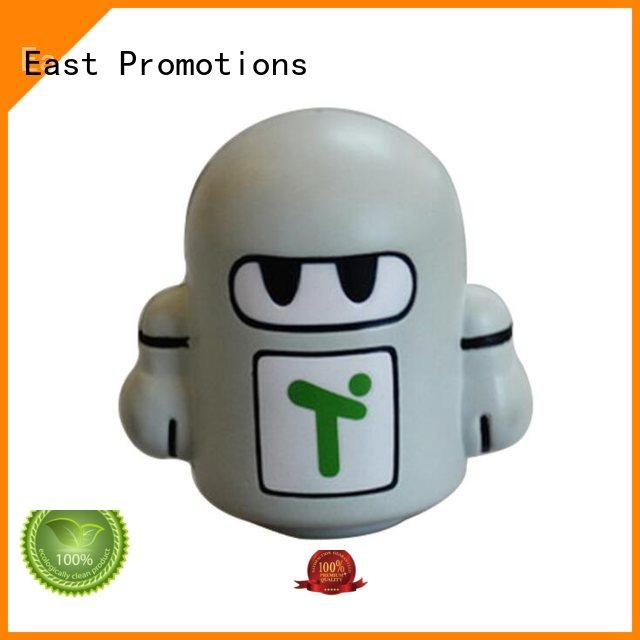 East Promotions cotton stress toys marketing for shopping mall