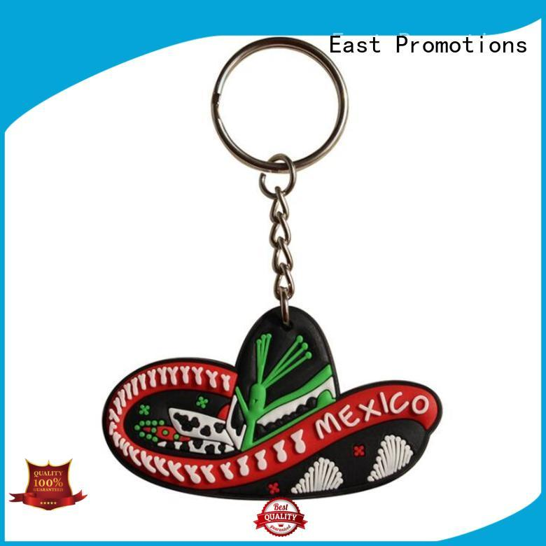 Customized Hat Shape PVC Rubber Key Chain
