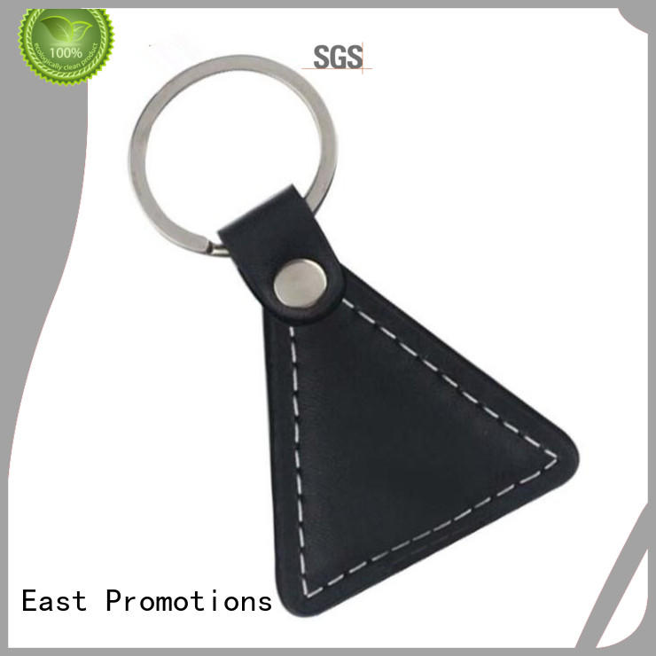 leather ring keychain