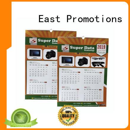 plain wall calendar desk factory price for office