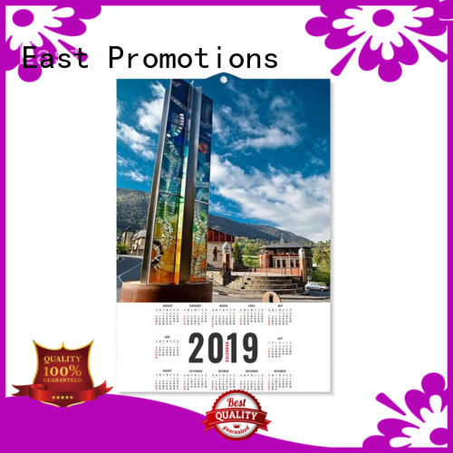 East Promotions printing office calendar on sale for work