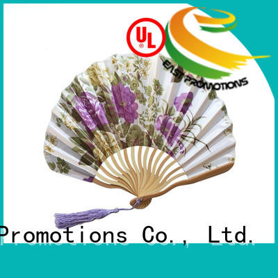East Promotions good looking personalized folding fans with ring for dancing