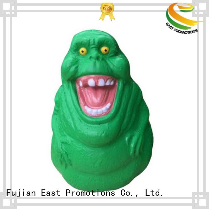 East Promotions smiling relaxing toys marketing for shopping mall