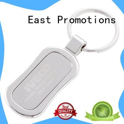 East Promotions best engraved metal keychains series for key