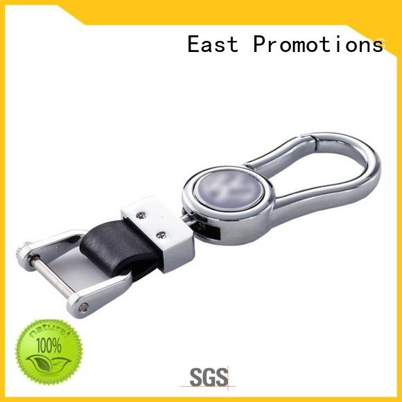 East Promotions blank leather keyrings series for sale