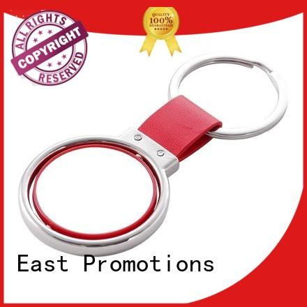 top quality personalised metal keyrings factory direct supply for sale