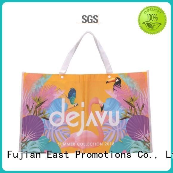 East Promotions best value custom reusable bags factory bulk production