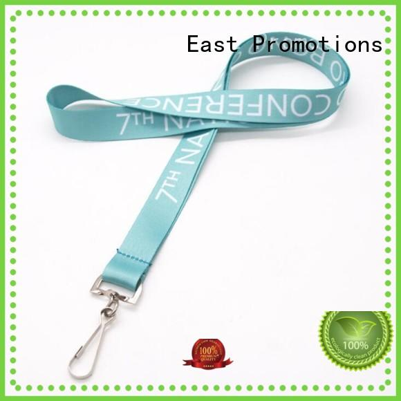 lanyard with logo hard for card East Promotions