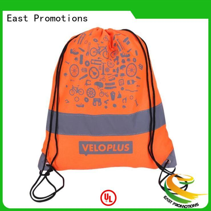 East Promotions high quality drawstring backpack with pockets supply for school
