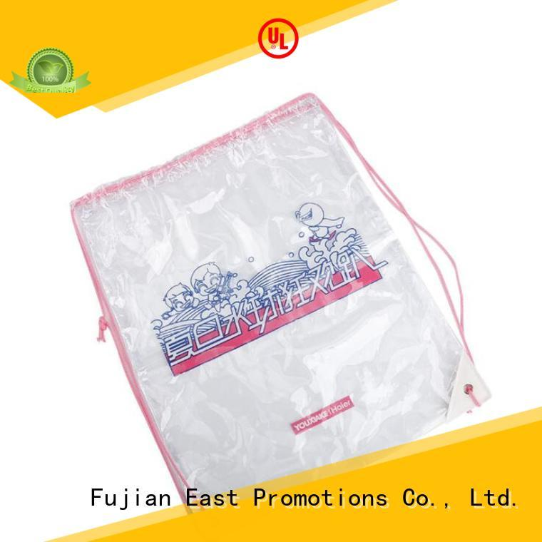 reflective canvas drawstring bags for trip East Promotions
