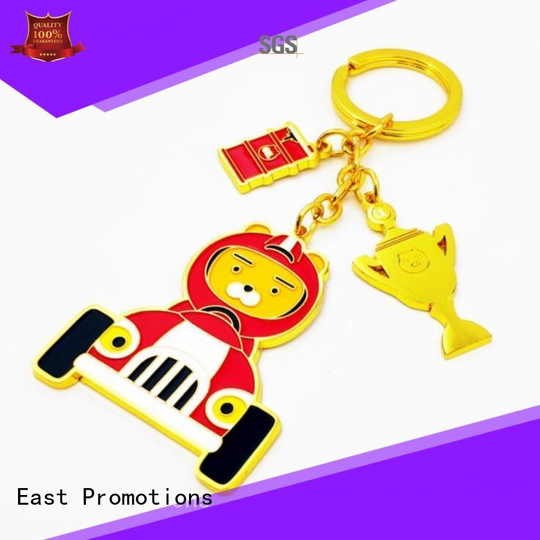 East Promotions personalised metal keyrings supply for sale