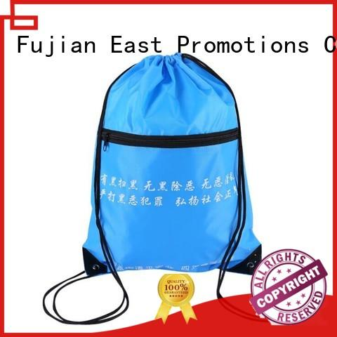 East Promotions worldwide drawstring school backpack series for gym