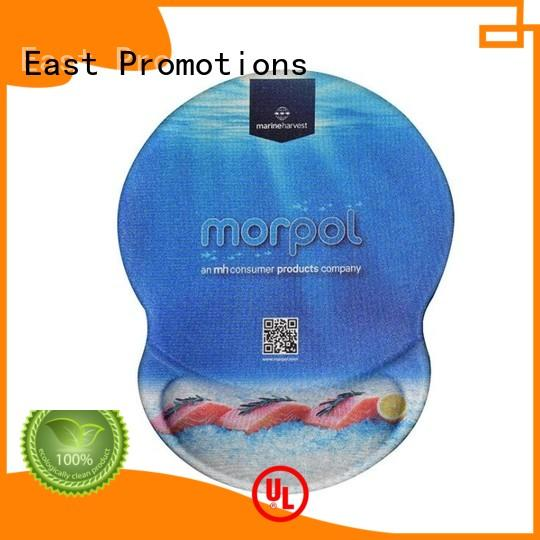 East Promotions widely used gel mouse pad certifications for office