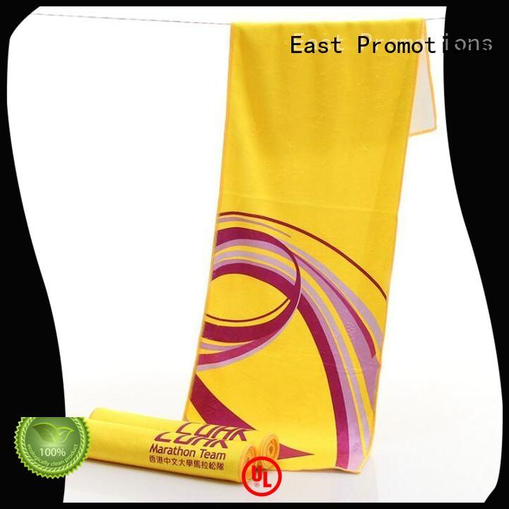 East Promotions non-irritating football towels manufacturer for gym