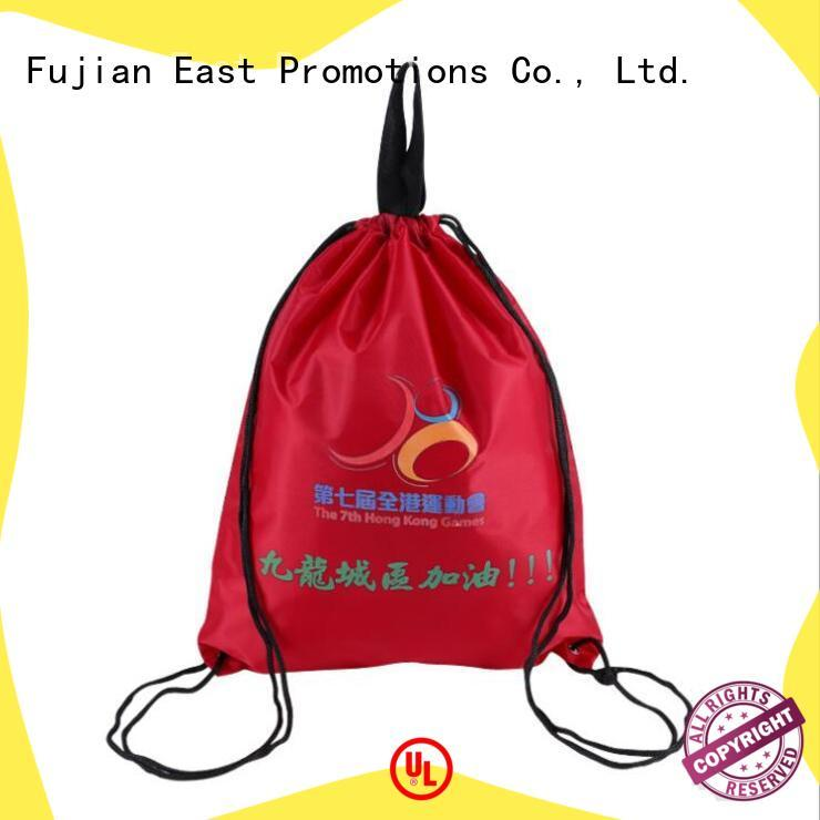 low-cost pull string bag directly sale bulk production