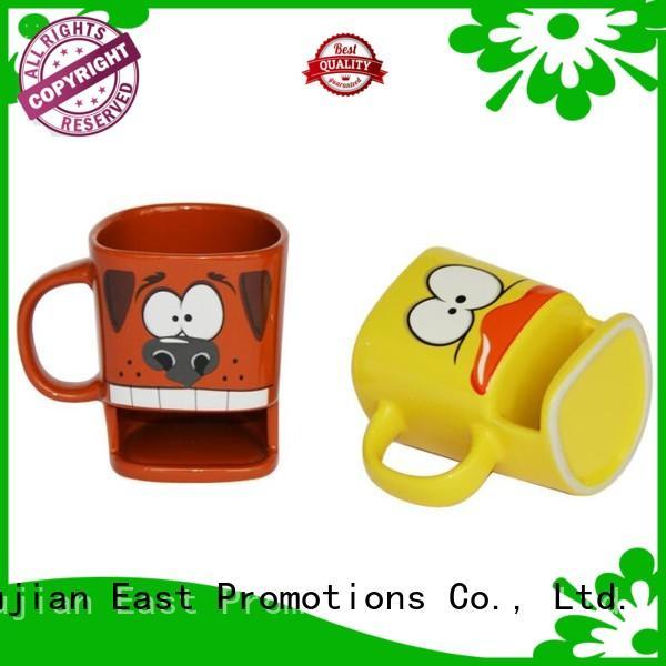 Ceramic Cookies Mug with Biscuit Holder Coffee Mug