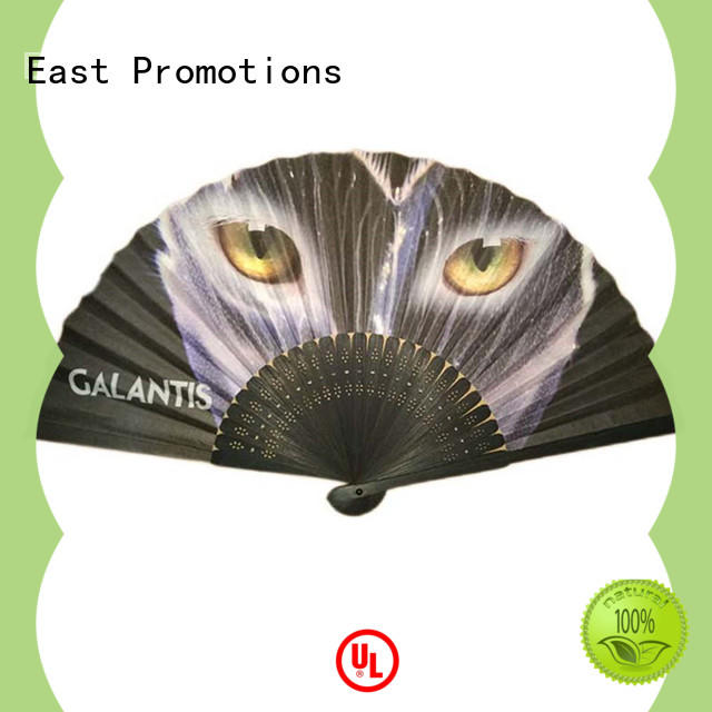 East Promotions durable paper hand fans factory price for decoration