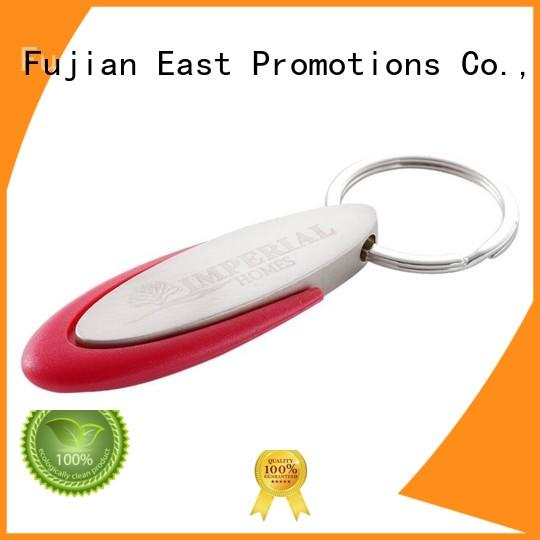 East Promotions practical plain metal keyring supply bulk production
