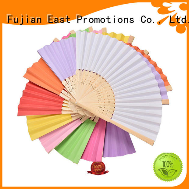 East Promotions colorful chinese hand fan bulk production for dancing