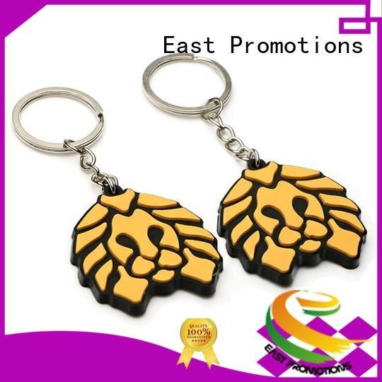 Wholesale Custom Logo PVC Rubber Keyring /Key Chain for Souvenir Gift