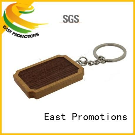 Factory Manufacture Blank Wooden Key Chain for Souvenir Gift
