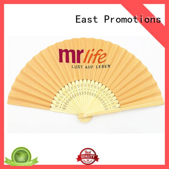 East Promotions portable plastic hand fan shop now for gift