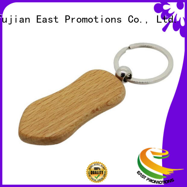Factory Price Wooden Keychains Promotional Wooden Keyring