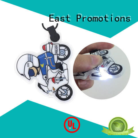 East Promotions cartoon keyring flashlight owner for decoration