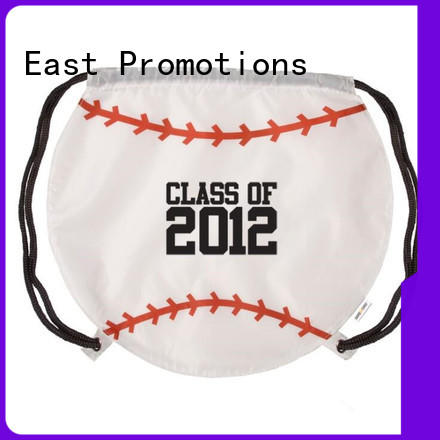 East Promotions professional custom drawstring bags pocket for packing