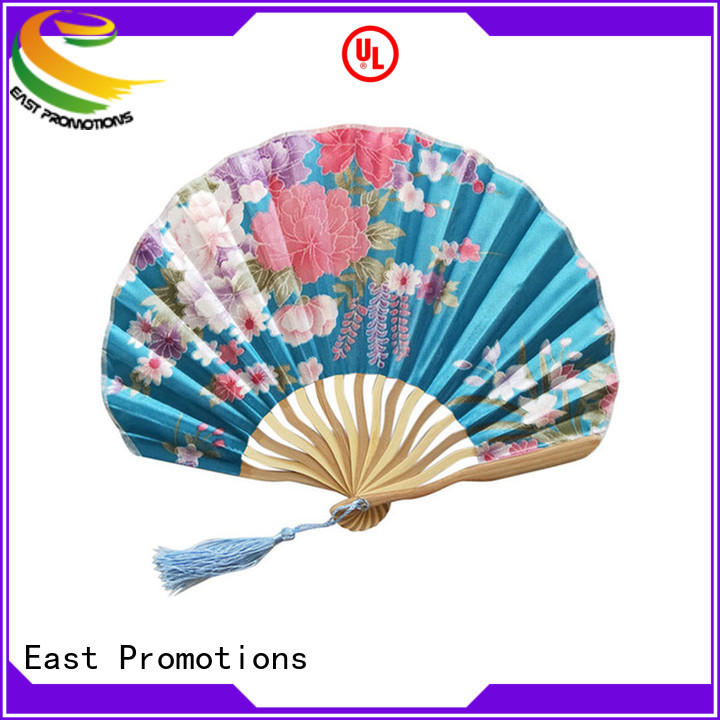East Promotions traditional promotional hand fans overseas market for dancing