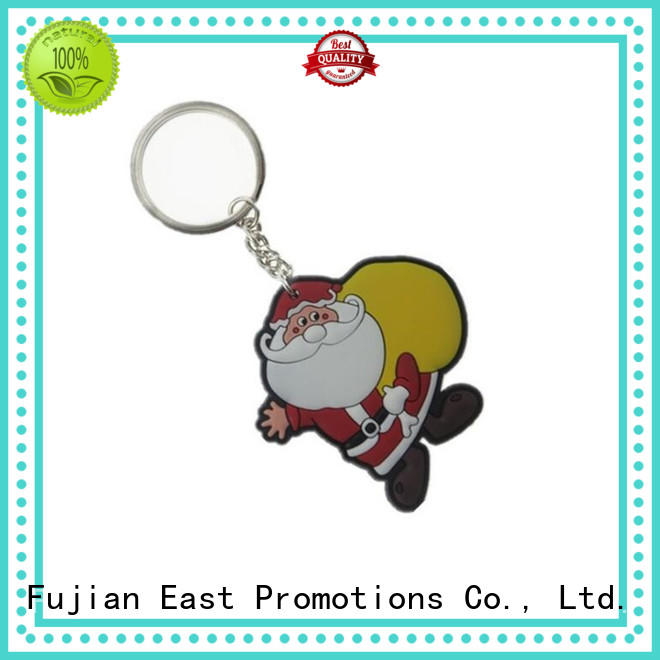 East Promotions pvc keyring series for decoration