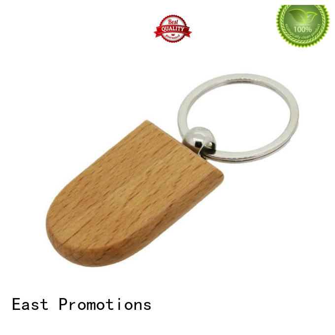 Eco-Friendly Wooden Keychain for Promotional Gifts