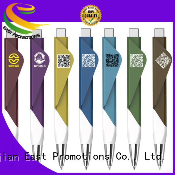 East Promotions fourcolor cheap ballpoint pens factory price