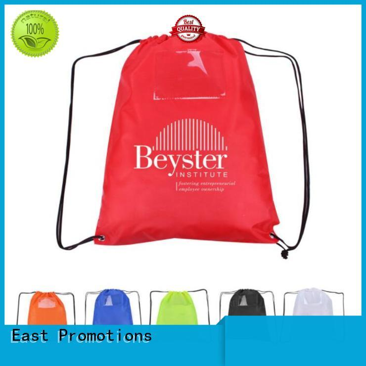 soft non woven drawstring bag nylon factory price for traveling