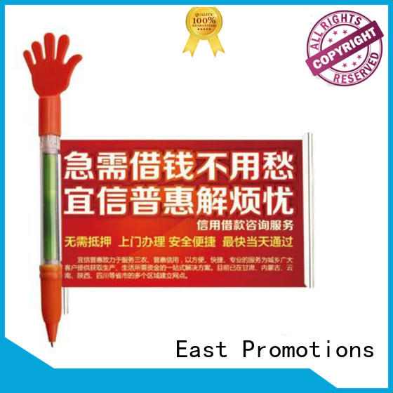 East Promotions fine-quality pen plastic from wholesale for school