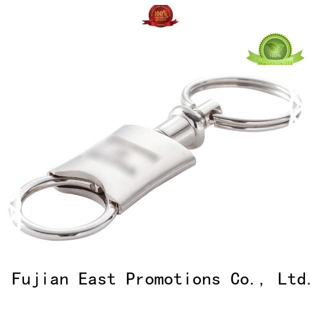 East Promotions high-quality promotional keychains metal supplier for gift