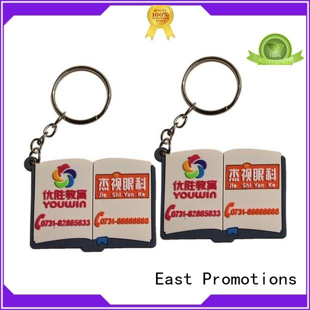 best price promotional pvc keyrings best supplier for key