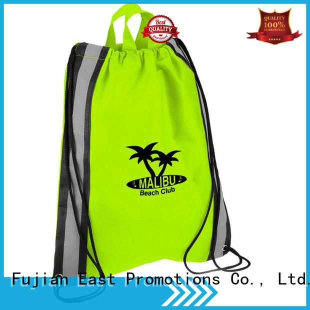 East Promotions factory price durable drawstring bag best supplier for trip
