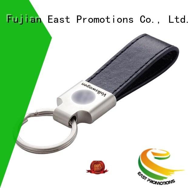 East Promotions high quality personalized leather keyring directly sale bulk buy
