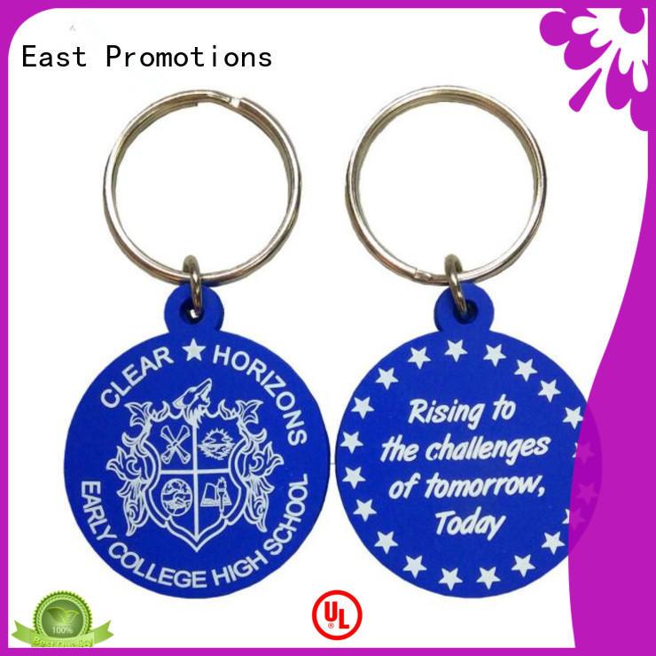 custom rubber key tags
