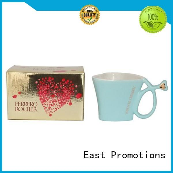 rubber custom printed mugs piece for drinking East Promotions