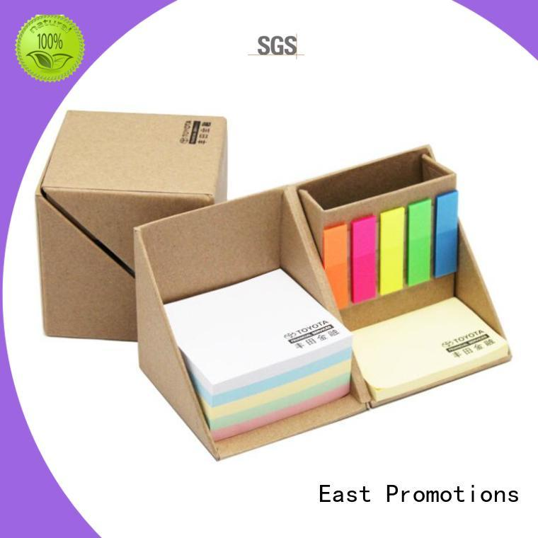 East Promotions latest sticky note box inquire now for school