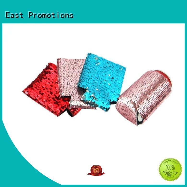 East Promotions recyclable cool beer koozies bulk production for can