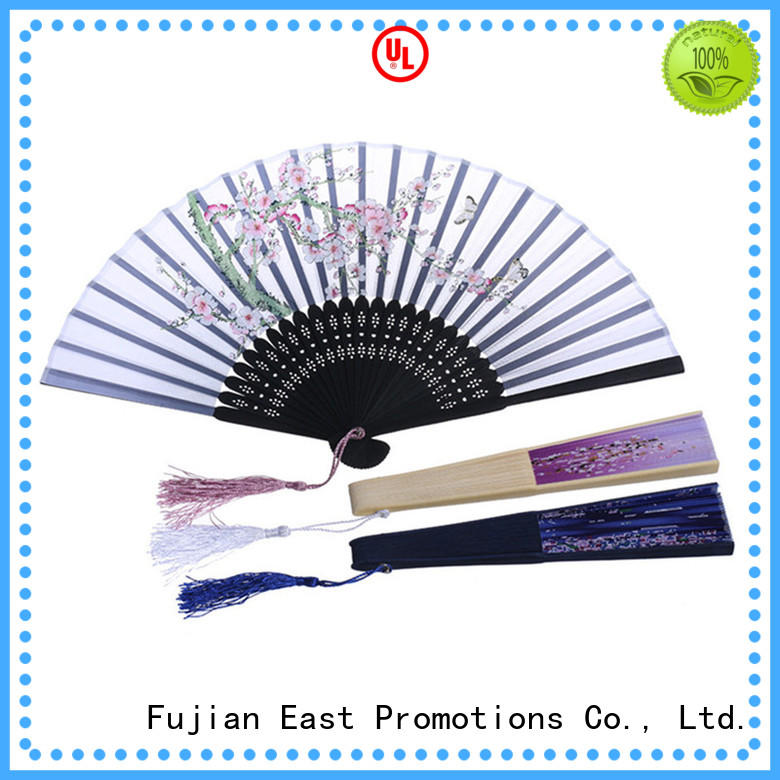 colorful personalized folding fans sides from manufacturer for decoration