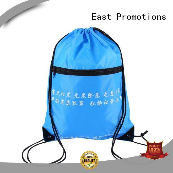 drawstring gym bag durable for packing East Promotions